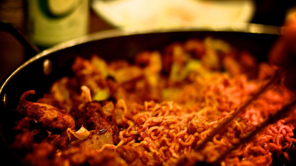 Eten Zuid-Korea