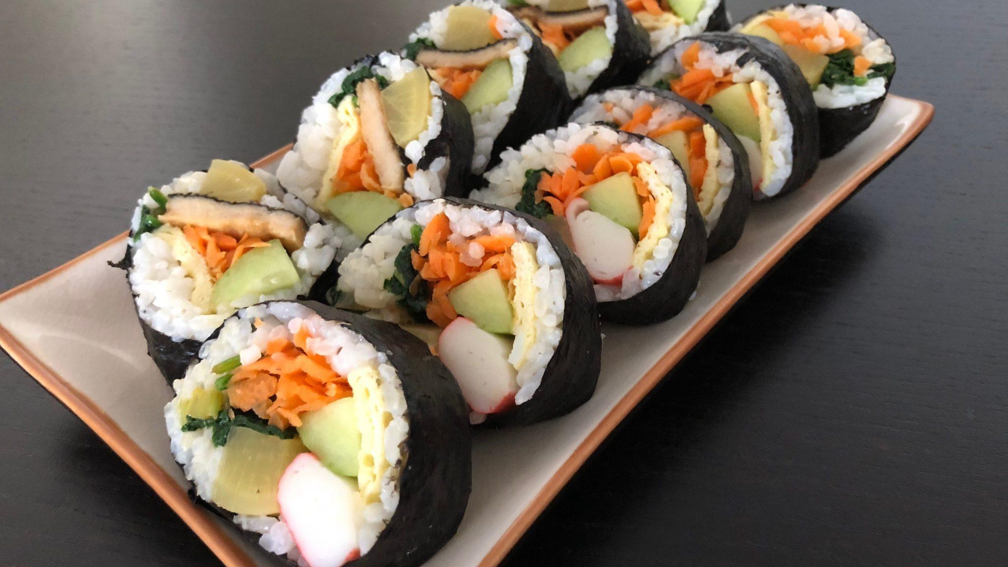 Kimbap, het Koreaanse zusje van sushi