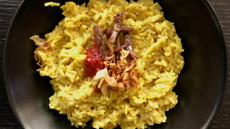 Nasi uduk: smaakvolle rijst met kokosmelk