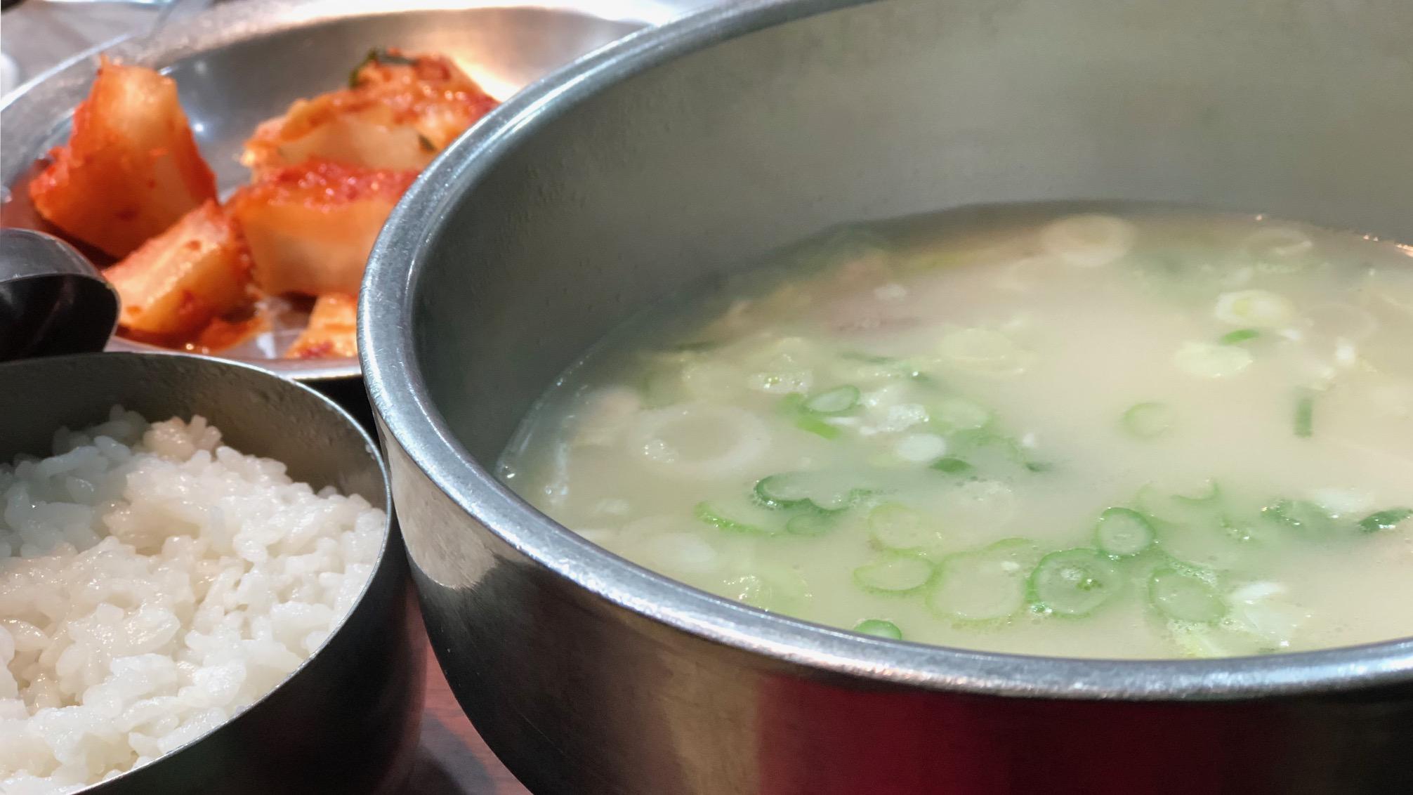 Sinseon Seolleongtang (Seoul): saai of smullen?