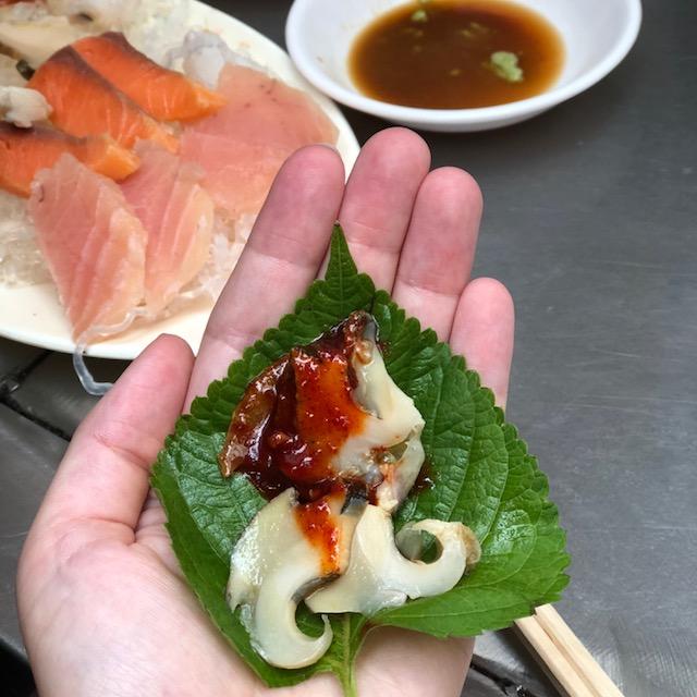 Hoe, Koreaanse sashimi