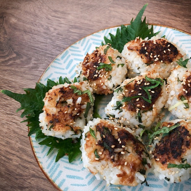 Japanse rijstballetjes