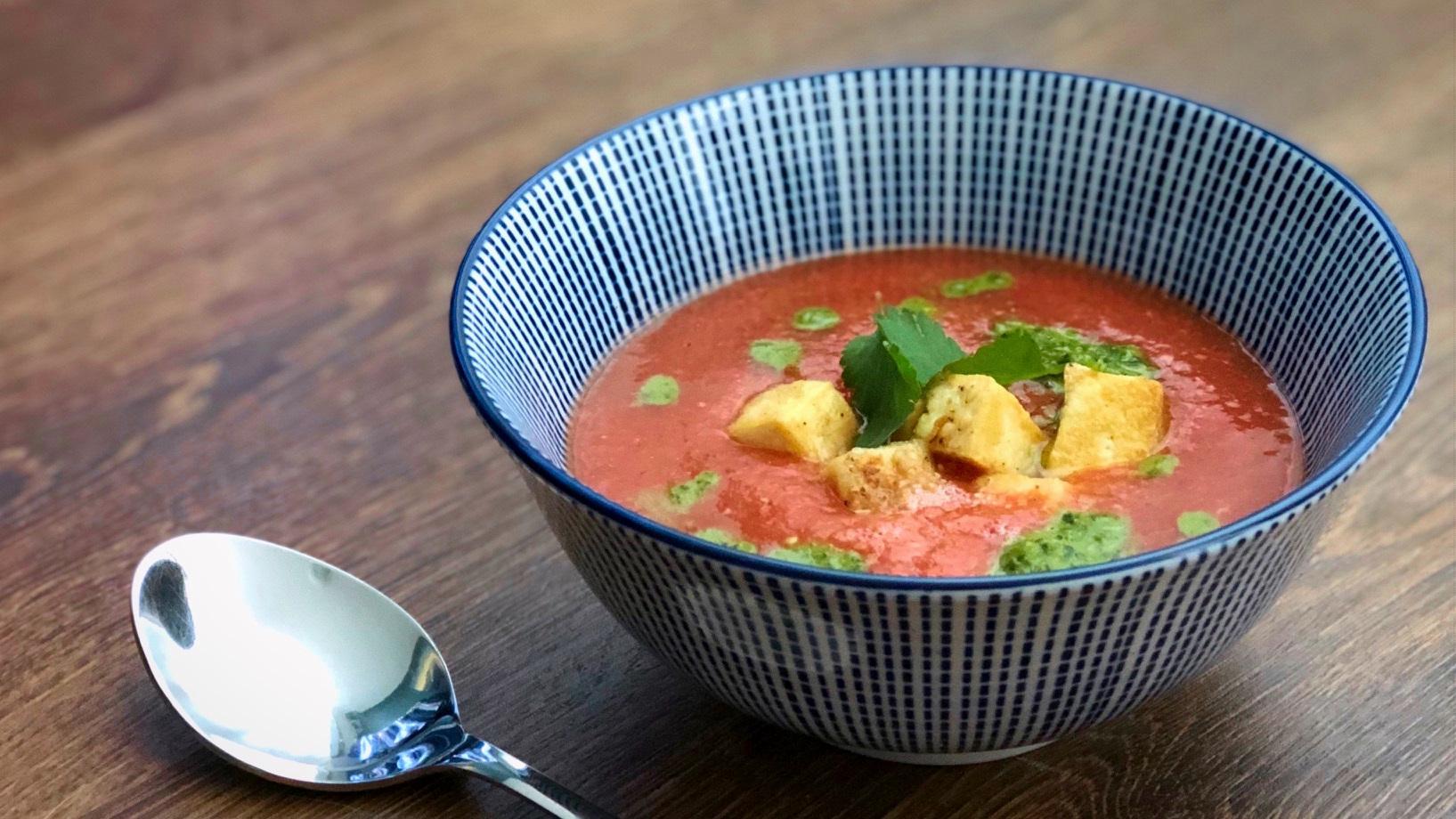 Thaise gazpacho