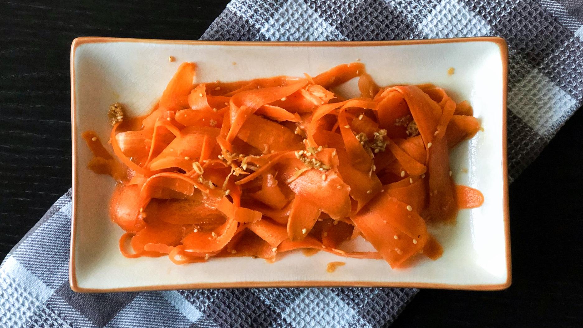 Supersimpele Japanse wortelsalade