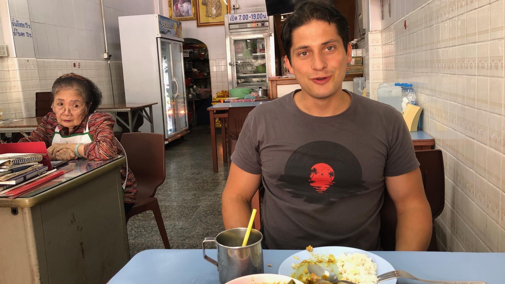 Luam Thai (Bangkok): loeiheet eten uit het zuiden van Thailand