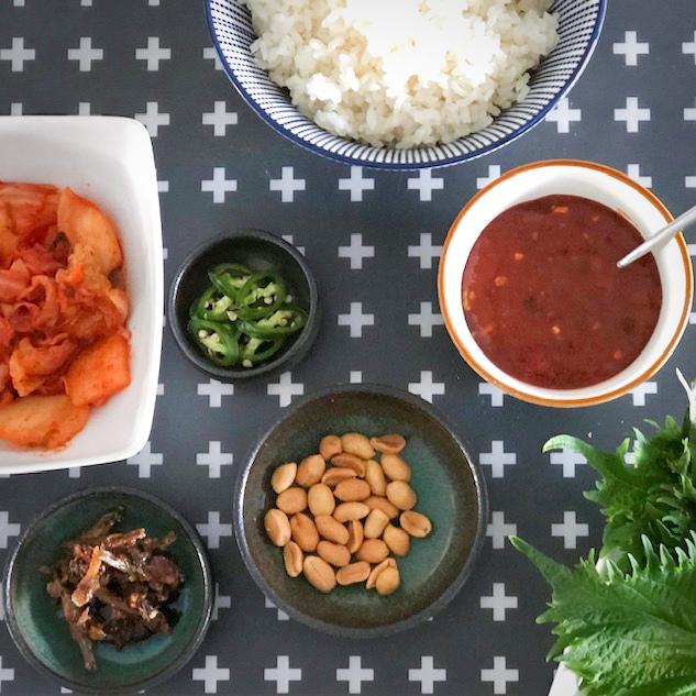Koreaanse ssambap