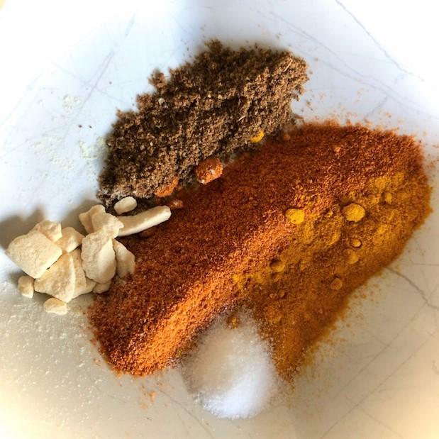 Kip biryani specerijen