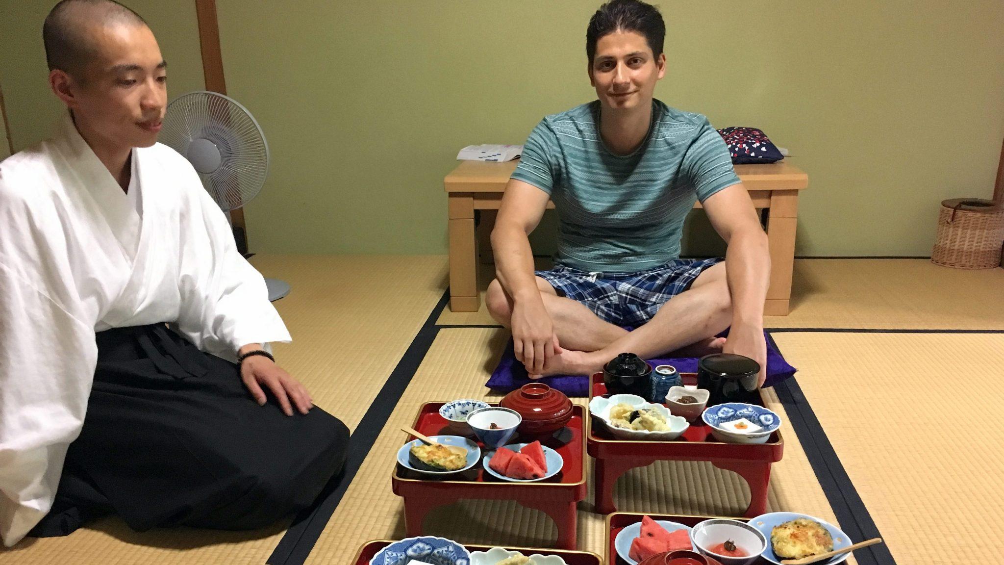 Eet en slaap als een Japanse monnik in Koyasan