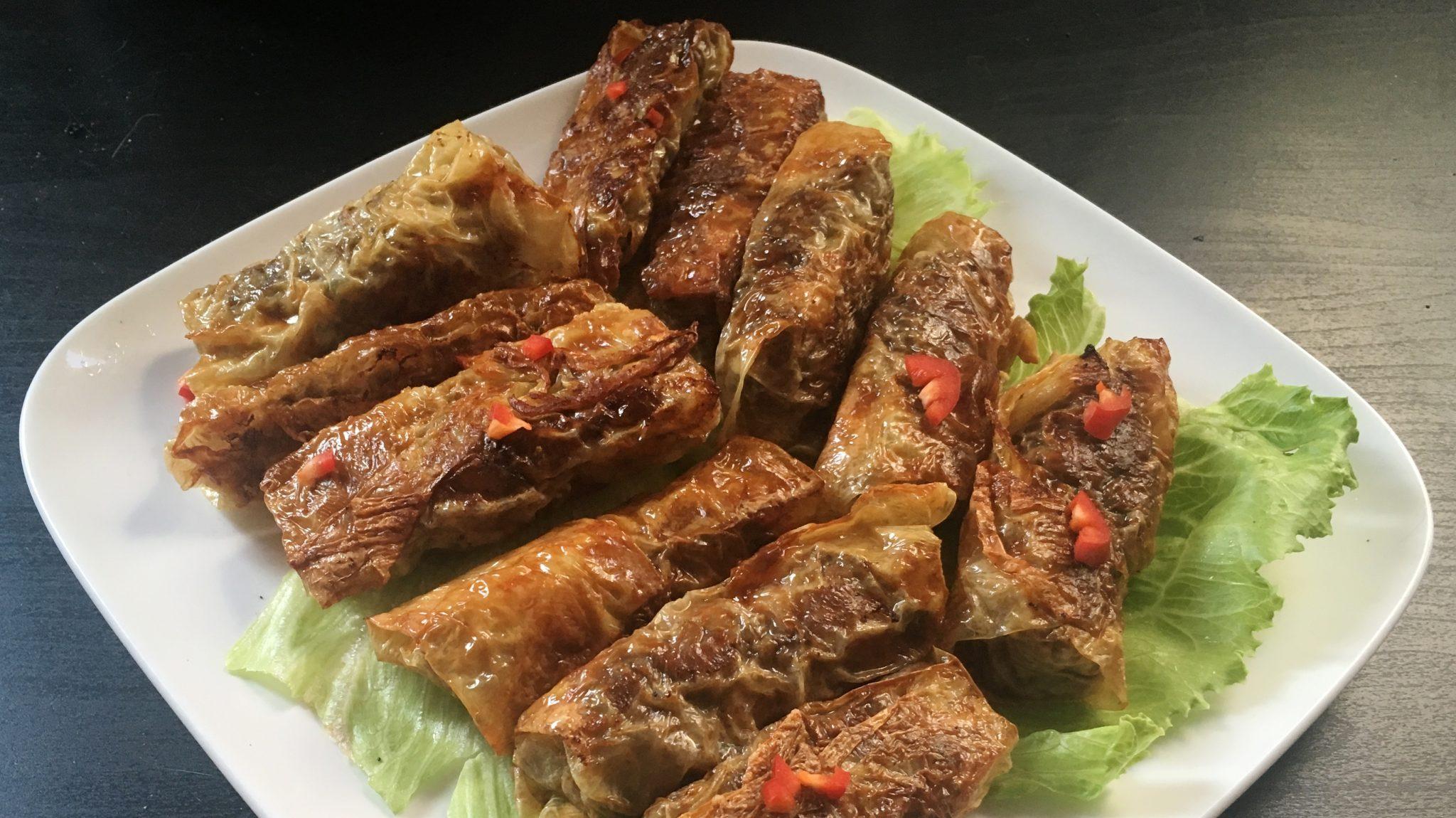 Ngo hiang, vijfkruiden-loempiaatjes uit Singapore