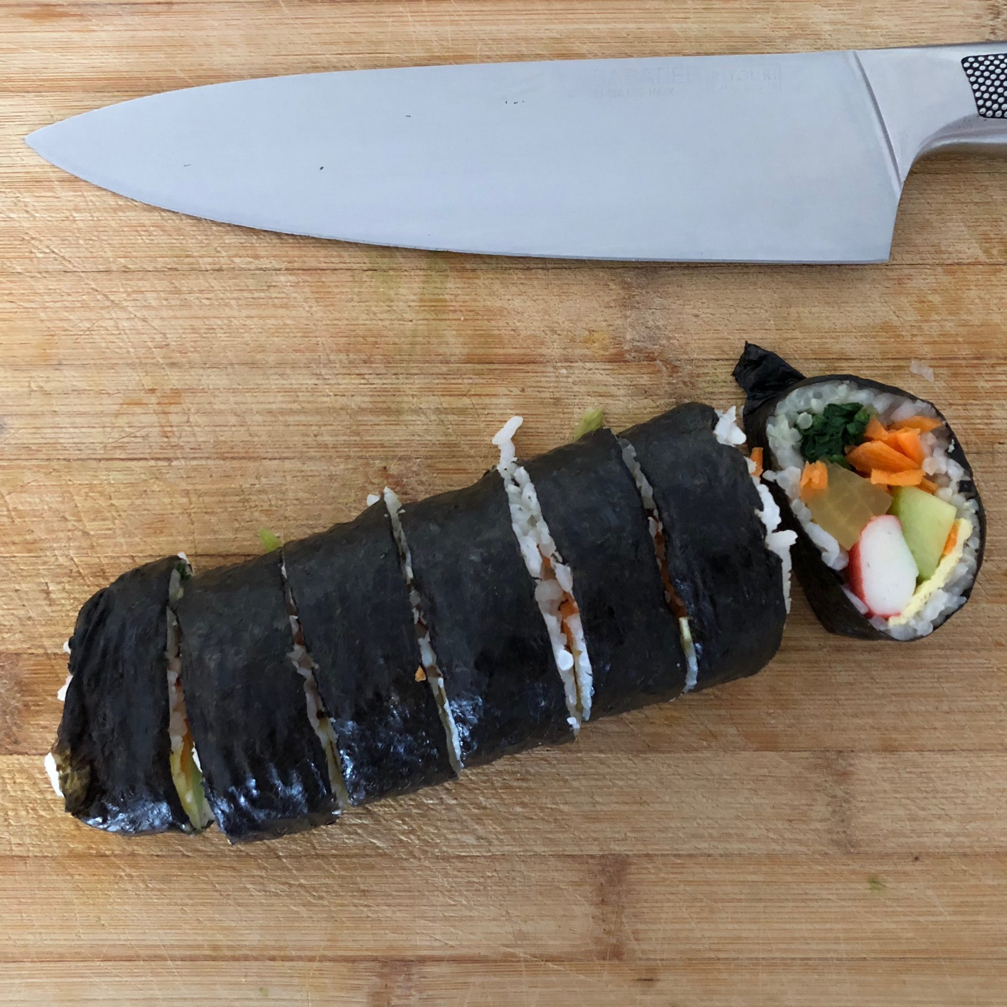 Kimbap recept