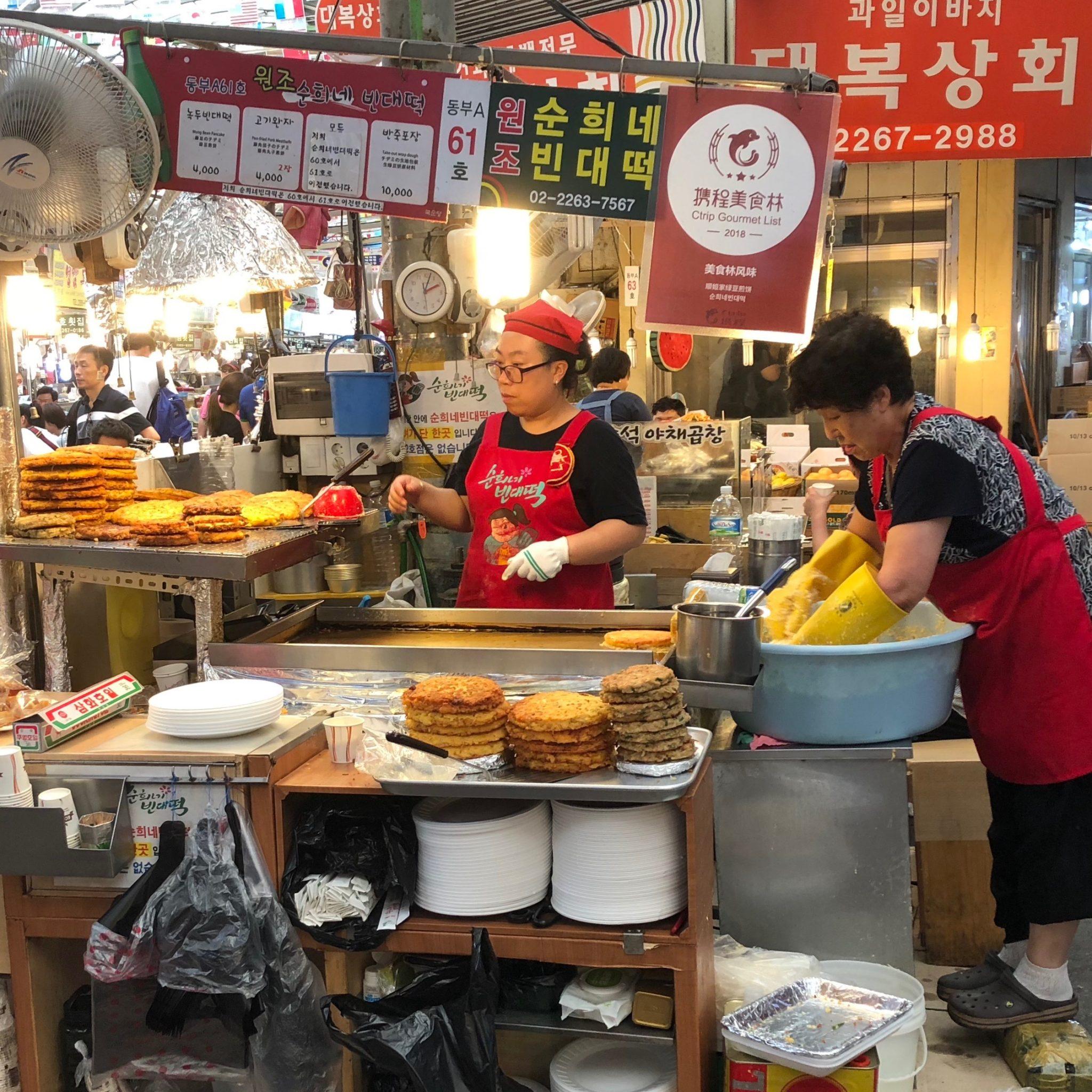 Koreaanse pannenkoek
