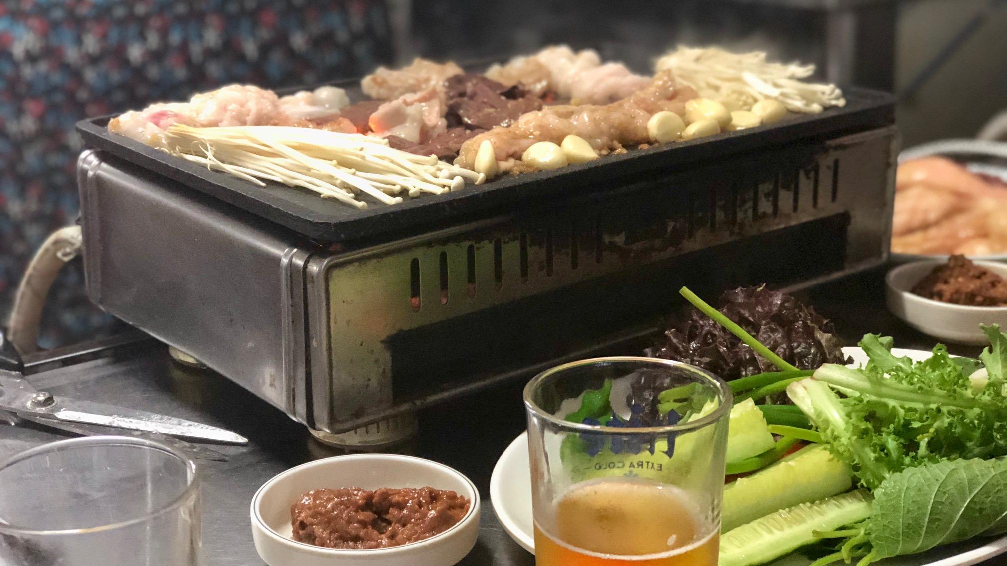 Gopchang, Korean BBQ voor écht avontuurlijke eters