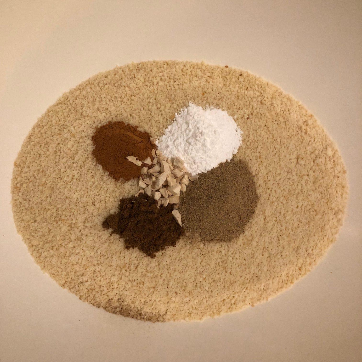 Specerijen Indiase worteltaart