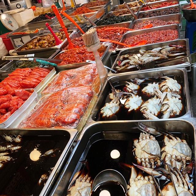 Street food Seoul