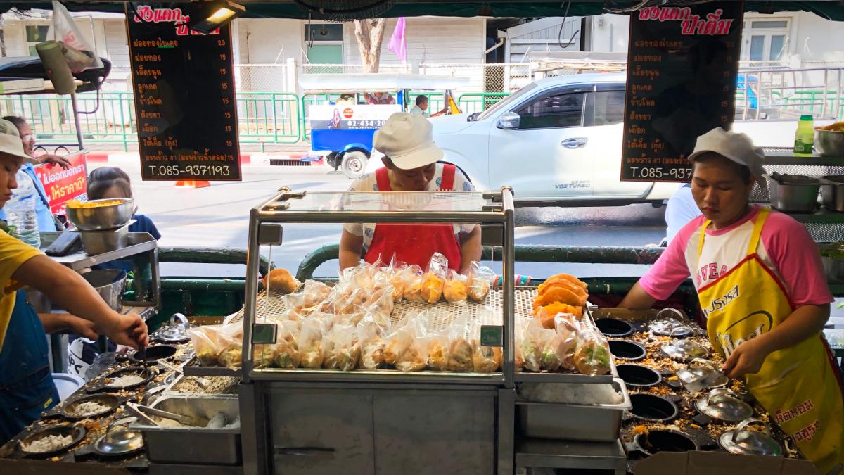 Authentiek smullen op Wang Lang Market (Bangkok)