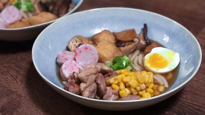 Miso nikomi udon: rijkgevulde Japanse bouillon