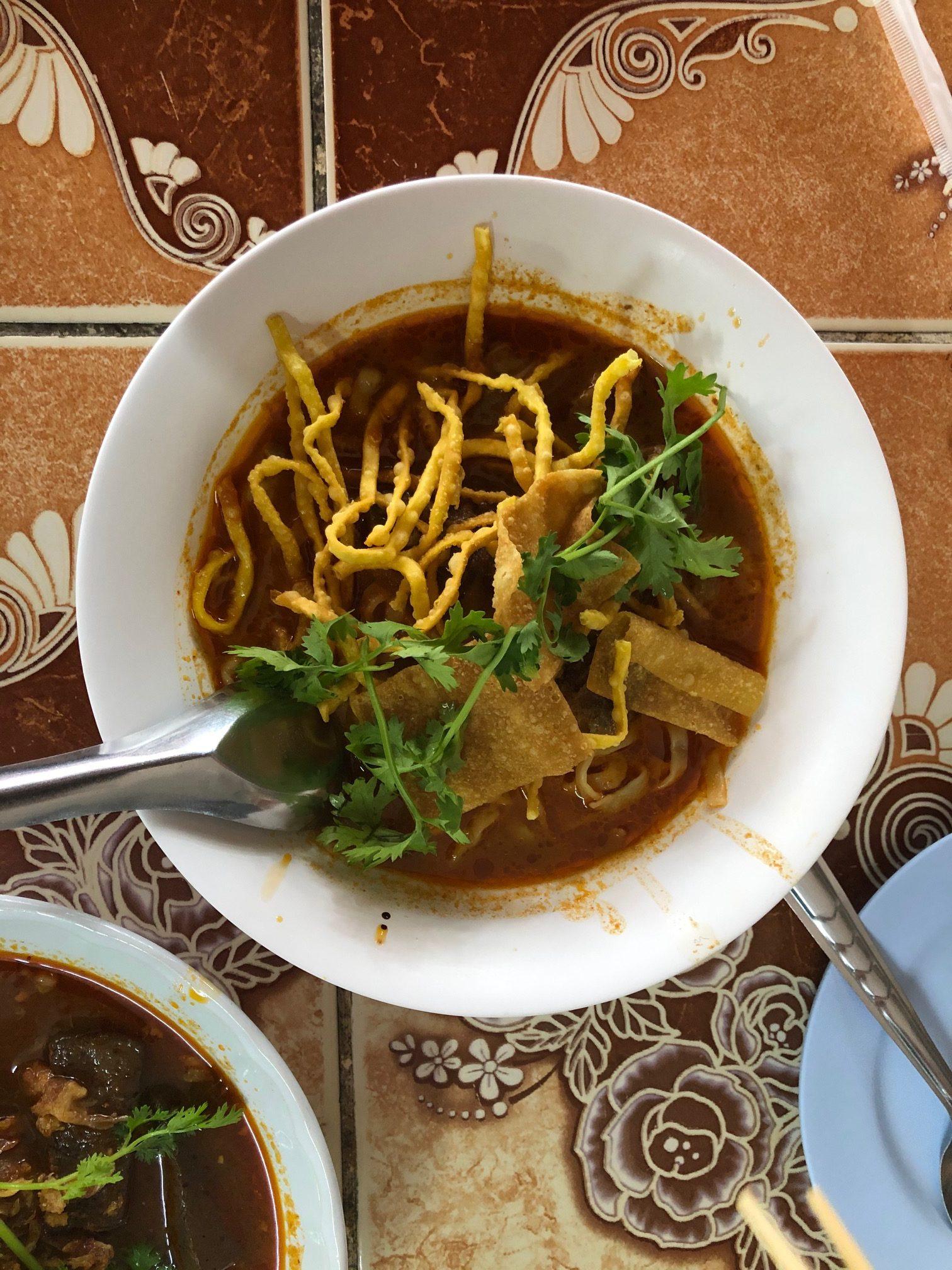 Khao soi met kip