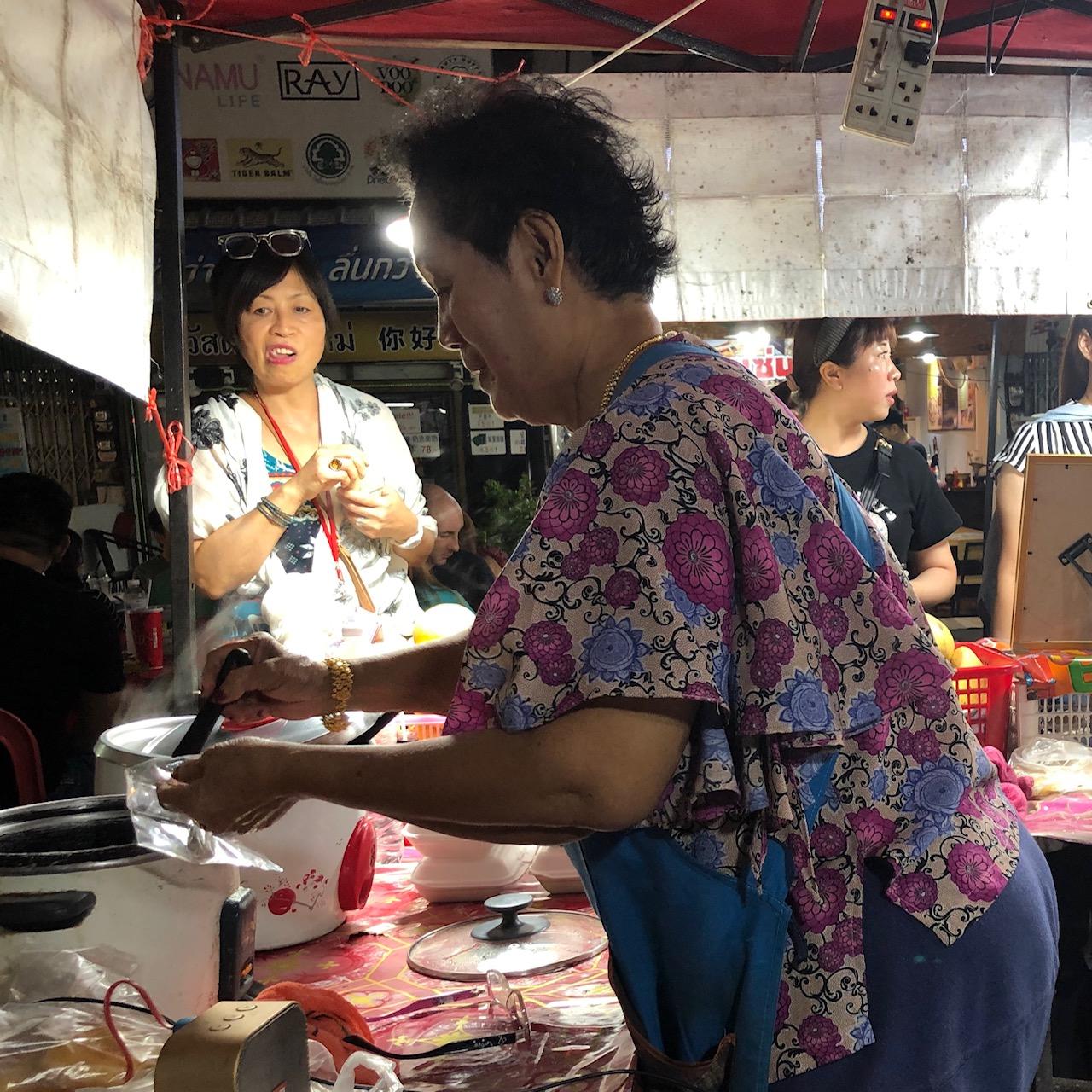 Mango sticky rice, Chiang Mai